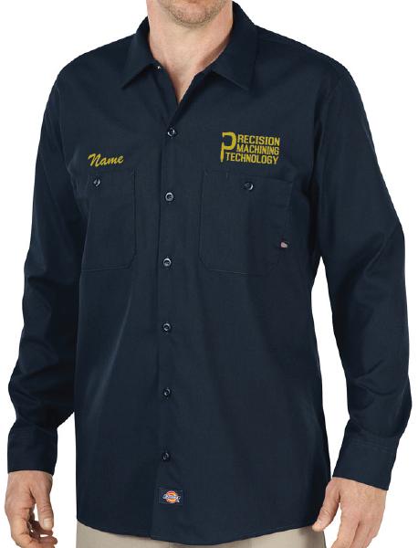 Dickies Long Sleeve Industrial Work Shirt